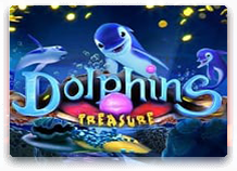 Вулкан игровой автомат Dolphins Treasure