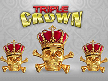 Автомат клуба Вулкан Triple Crown: играть на реальные деньги