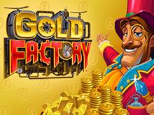 Играйте в новый автомат Gold Factory онлайн прямо сейчас
