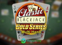 Игровой слот Classic Blackjack Multi Hand Gold Series